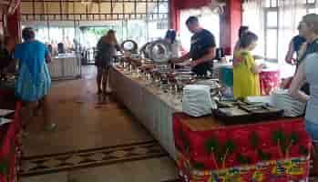 завтрак в отеле тайланд