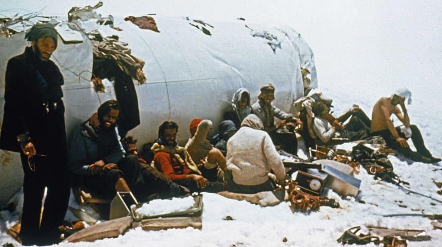анды 1972 крушение