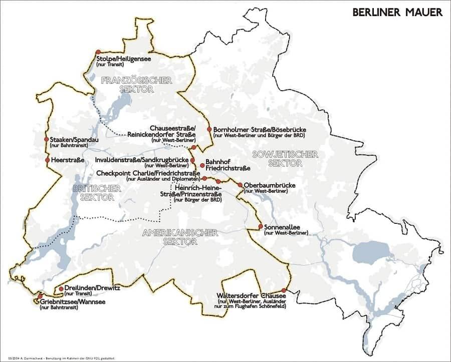 разделенный берлин