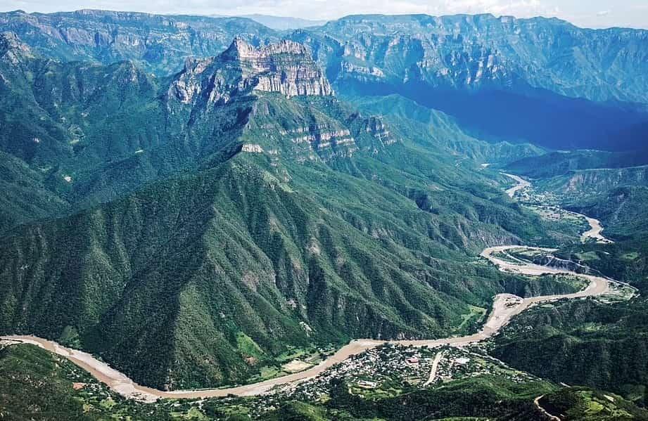 медный каньон мексика