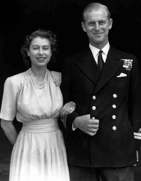 Принц Филипп после помолвки с королевой Елизаветой II в 1947 году