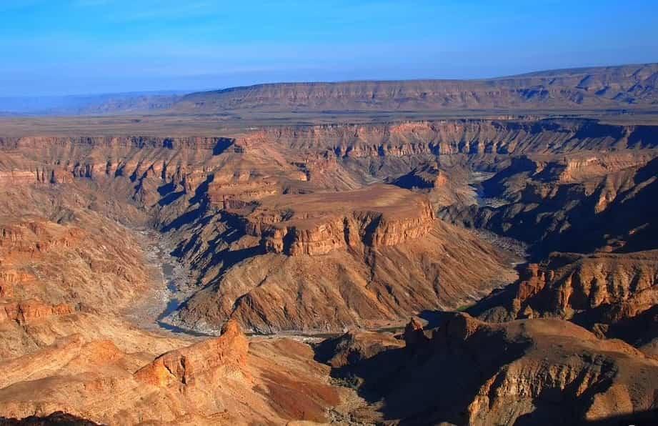 каньон фиш ривер
